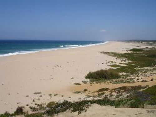 Information beaches alentejo coast for holiday or vacation monte