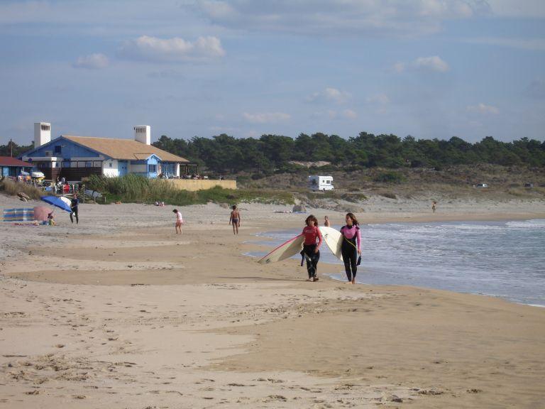 Surf Sao Torpes strand Alentejo Portugal