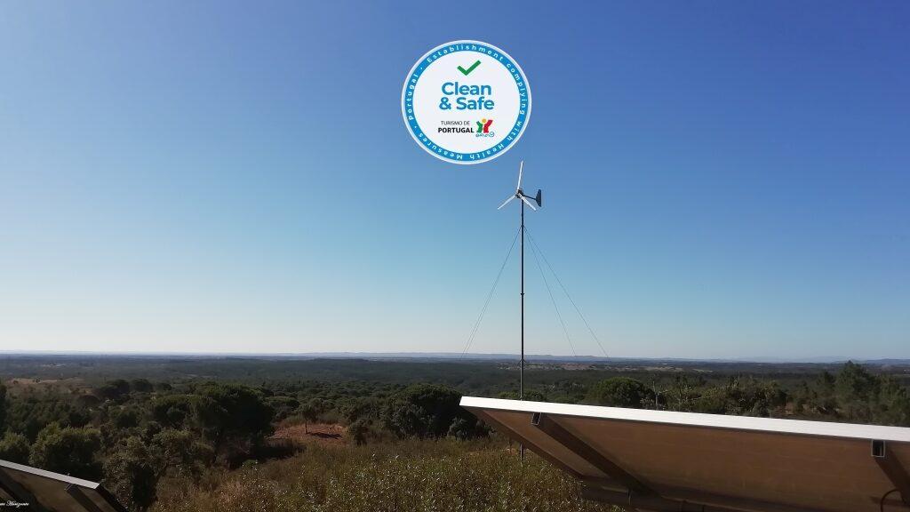 Solar- und Windenergie Urlaub Portugal Monte Horizonte in der Region Alentejo