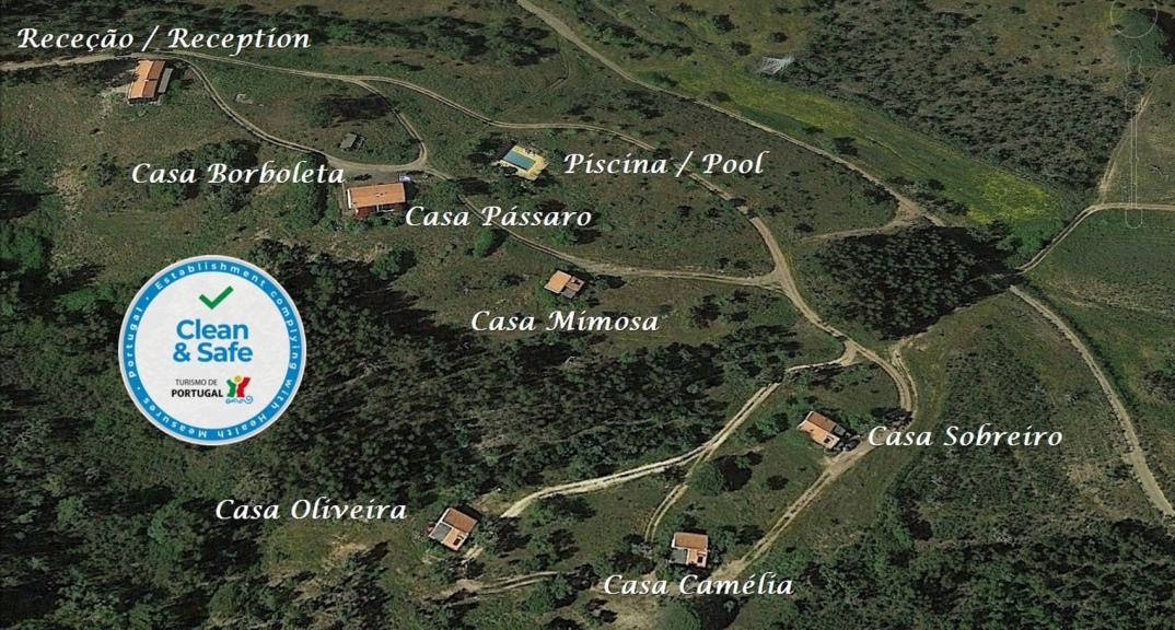 Ferien in Portugal Monte Horizonte Übersichtskarte