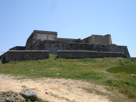 Castle near Ilha de Pessegueiro Porto Covo Portugal