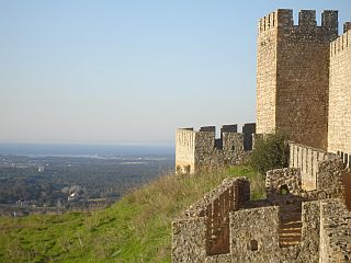 Castle Santiago do Cacem Portugal
