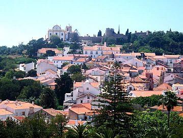 Santiago do Cacem Historic Center Portugal
