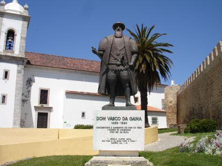 Vasco da Gama Sines Portugal