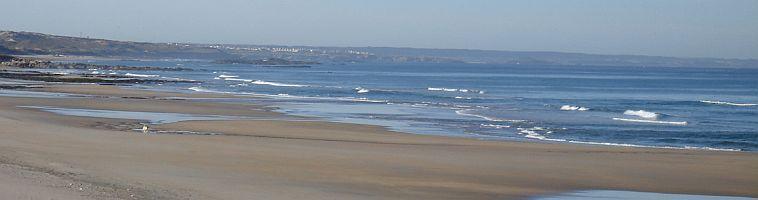 Beach Sao Torpes Sines Portugal