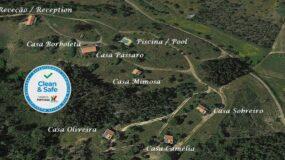 Planta Monte Horizonte Turismo Rural Alentejo Portugal