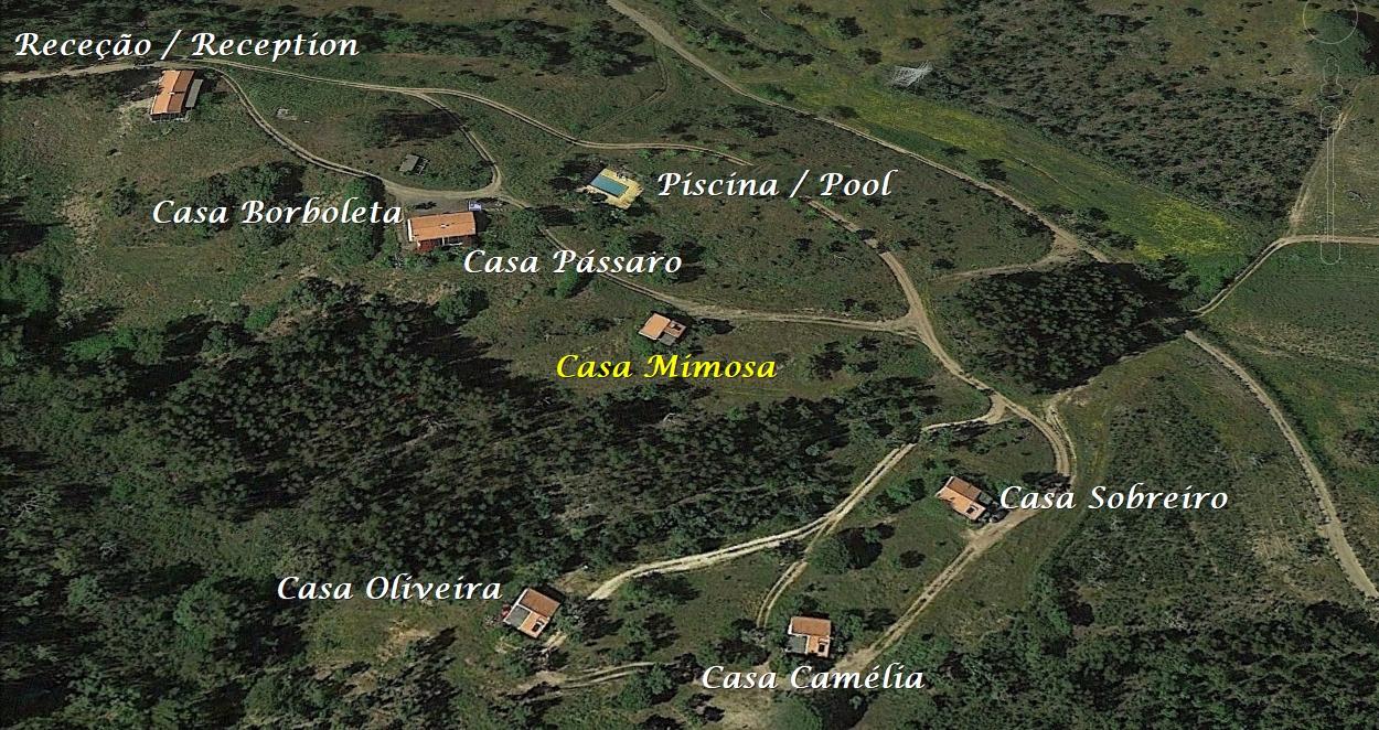 Férias em Monte Horizonte em Portugal Casa Mimosa