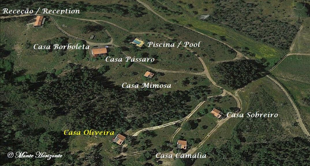 Férias em Monte Horizonte em Portugal Casa Oliveira