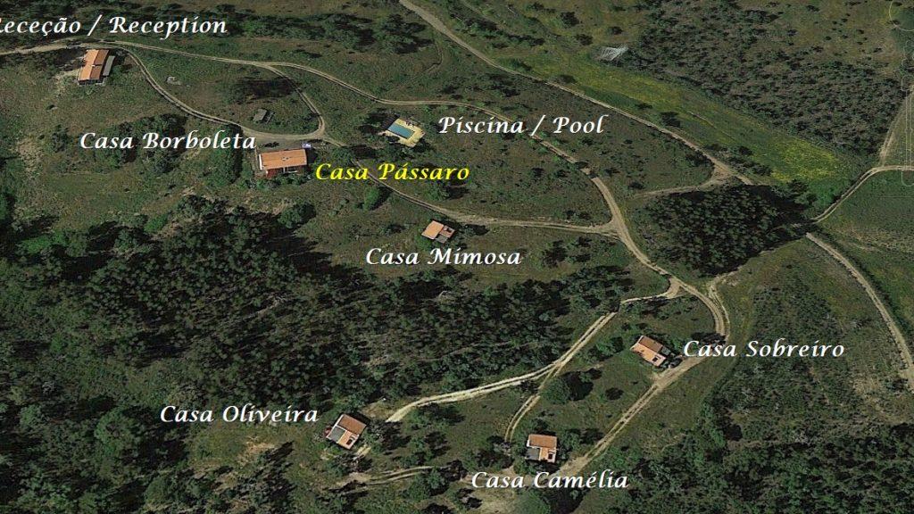 Férias em Monte Horizonte em Portugal Casa Passaro