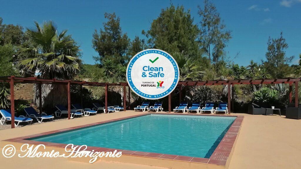 Covid-19 Monte Horizonte Pool Clean & Safe