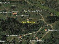 Monte Horizonte Holiday Portugal Casa Mimosa Location